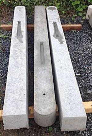 Gate Posts Smp Concrete Portable Cubicle System